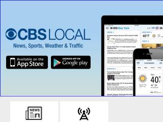 image of CBS Local Digital Media Wins 2014 Best News Mobile Application Mobile WebAward for Best News App: CBS Local App