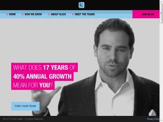 image of Klick Health Wins 2014 Best Employment Mobile Website Mobile WebAward for Klick Health Careers Website