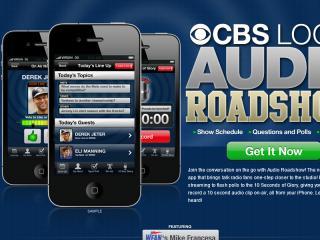 image of CBS Local Digital Media Wins 2012 Best Broadcasting Mobile Application Mobile WebAward for CBS Local Digital Media's Audio  Roadshow