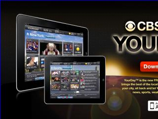 image of CBS Local Digital Media Wins 2012 Best Regional Mobile Application Mobile WebAward for CBS Local Digital Media's YourDay