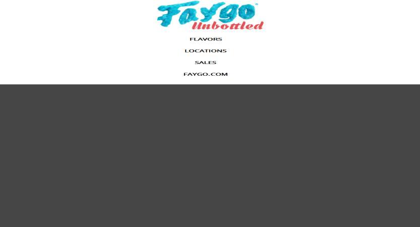 image of TMV Group Wins 2018 Best Beverage Mobile Website Mobile WebAward for FaygoUnbottled.com