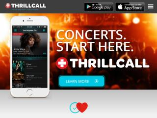 image of Thrillcall and WillowTree Wins 2015 Best Music Mobile Application Mobile WebAward for Thrillcall Live Music