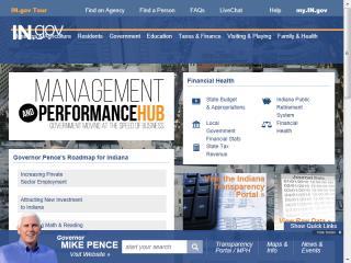image of  Wins 2014 Best Government Mobile Website Mobile WebAward for IN.gov Management Performance Hub