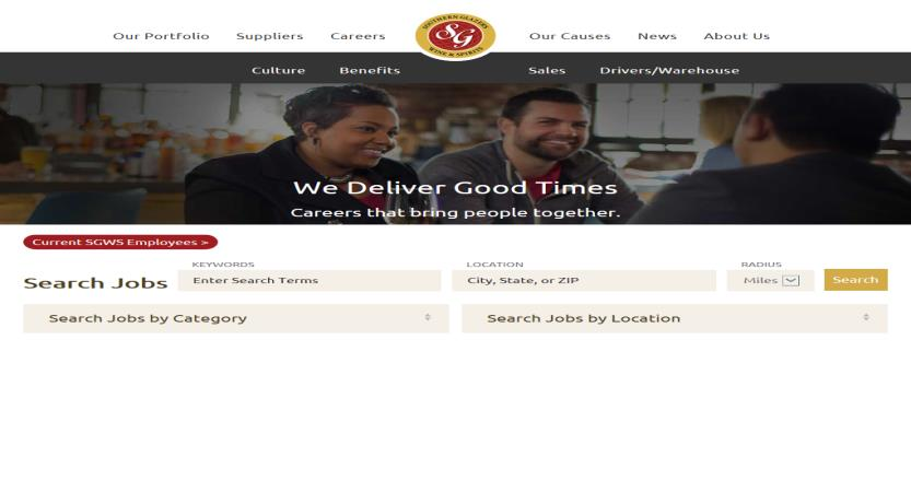 image of TMP Worldwide Wins 2017 Best Food Industry Mobile Website Mobile WebAward for Southern Glazer's Wine & Spirits Career Site