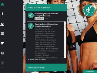 image of Euroweb Internet GmbH Wins 2013 Outstanding Mobile Website Mobile WebAward for German Women's Beach Volleyball Team Laura Ludwig / Kira Walkenhorst