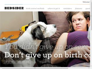 image of The National Campaign to Prevent Teen and Unplanned Pregnancy Wins 2012 Best Non-Profit Mobile Website Mobile WebAward for Bedsider Mobile. Birth Control Made Easy.