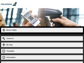 image of Icelandair & TM Software Wins 2013 Best Airline Mobile Website Mobile WebAward for Icelandair Mobile