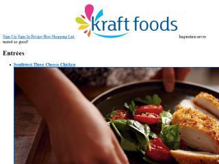 image of Kraft Foods & 360i Wins 2012 Best Food Industry Mobile Website Mobile WebAward for Kraft Foods: Make Something Amazing