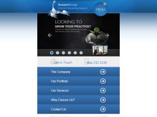 image of Scorpion Design Inc. Wins 2012 Best Marketing Mobile Website Mobile WebAward for Scorpion Design, Inc.