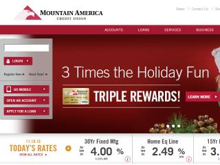 image of Mountain America Credit Union Wins 2015 Best Credit Union Mobile Website Mobile WebAward for MACU Website