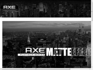 image of SapientNitro Wins 2014 Best Consumer Goods Mobile Website Mobile WebAward for AXE Matte Effect