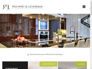 image of PIXEL & CIE Wins 2015 Best Architecture Mobile Website Mobile WebAward for RICHARD & LEVESQUE