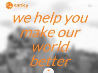 image of Sanky Communications, Inc. Wins 2015 Best Marketing Mobile Website Mobile WebAward for Sanky Website Redesign