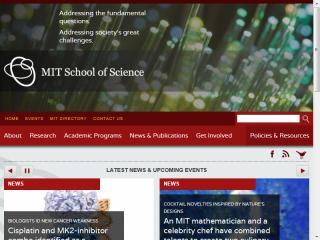 image of Corey McPherson Nash Wins 2013 Best University Mobile Website Mobile WebAward for MIT School of Science Mobile Site