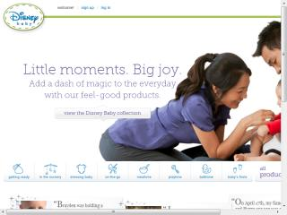 image of Disney Interactive Family Wins 2012 Best Family Mobile Website Mobile WebAward for DisneyBaby.com