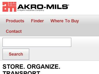 image of hfa / Akro-Mils Wins 2012 Best B2B Mobile Website Mobile WebAward for Akro-Mils Mobile Website