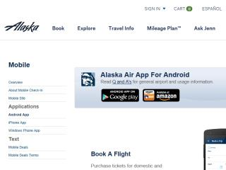 image of Alaska Airlines Android Team Wins 2015 Best Airline Mobile Application, Best Travel Mobile Application Mobile WebAward for Alaska Airlines Android App