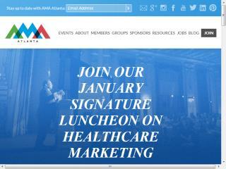 image of Nebo Wins 2014 Best Associations Mobile Website Mobile WebAward for AMA Atlanta Redesign