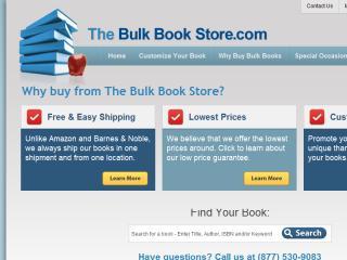 image of AngelVision Technologies Wins 2013 Best Advertising Mobile Website, Best Publishing Mobile Website Mobile WebAward for The Bulk Bookstore