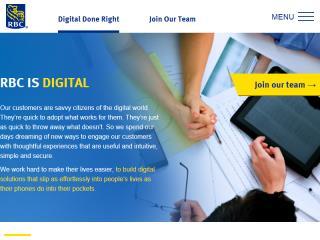 image of Digital at RBC  Wins 2015 Best Advertising Mobile Website Mobile WebAward for Digital at RBC
