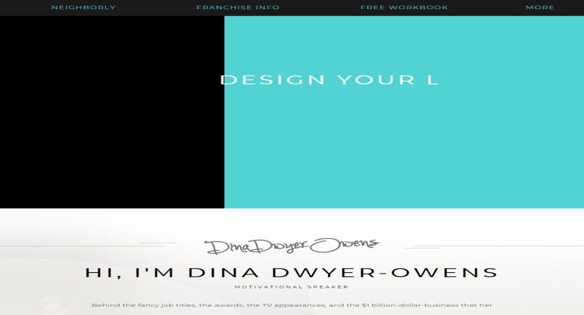 image of Scorpion Wins 2017 Best Other Mobile Website Mobile WebAward for Dina Dwyer