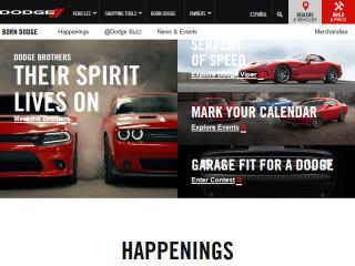 image of SapientNitro Wins 2015 Best Automobile Mobile Website Mobile WebAward for Born Dodge Microsite Redesign