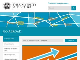 image of University Website Programme Wins 2015 Best Education Mobile Website Mobile WebAward for University of Edinburgh