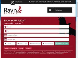 image of Gere Donovan Creative Wins 2014 Best Airline Mobile Website Mobile WebAward for Ravn Alaska