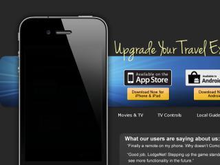 image of LodgeNet Interactive Corporation Wins 2012 Best Hotel and Lodging Mobile Application Mobile WebAward for LodgeNet Mobile
