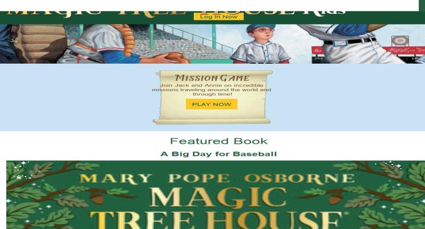 image of Sudden Industries Wins 2017 Best Publishing Mobile Website Mobile WebAward for Magic Tree House