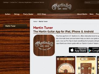 image of Spark Wins 2014 Best Music Mobile Application, Best of Show Mobile Application Mobile WebAward for Martin Guitar Tuner