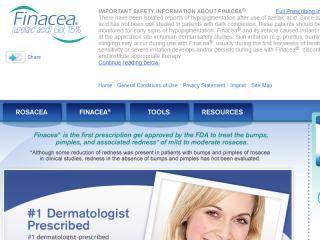 image of Bayer HealthCare Wins 2013 Best Pharmaceuticals Mobile Website Mobile WebAward for finacea.com