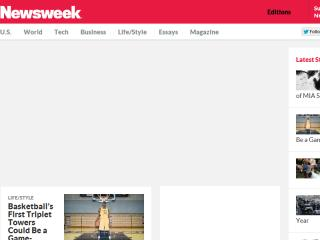 image of Huge and Newsweek Wins 2013 Best News Mobile Website, Best of Show Mobile Website Mobile WebAward for The Redesigned Newsweek.com