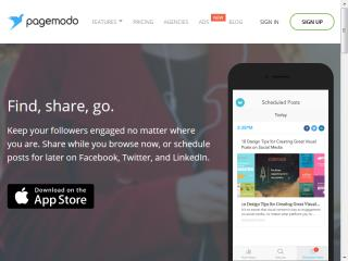 image of Pagemodo Wins 2015 Best Marketing Mobile Application Mobile WebAward for Pagemodo App