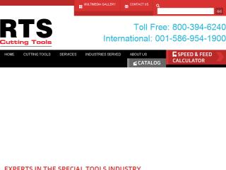 image of TopSpot Internet Marketing Wins 2015 Best Catalog Mobile Website Mobile WebAward for RTS Cutting Tools, Inc Responsive Catalog Website