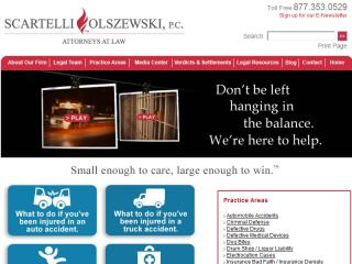 image of Furia Rubel Communications Wins 2013 Best Legal Mobile Website Mobile WebAward for Scartelli Olszewski Mobile Website