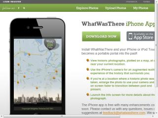 image of Enlighten Wins 2013 Best Photography Mobile Application Mobile WebAward for WhatWasThere iPhone App