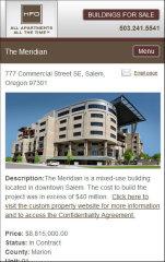 image of HFO Real Estate Wins 2012 Best Professional Services Mobile Website, Best Real Estate Mobile Website Mobile WebAward for HFO Investment Real Estate