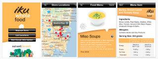 image of RGC Advertising Wins 2012 Best Food Industry Mobile Application Mobile WebAward for Iku Wholefood iPhone App
