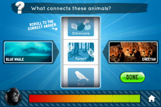 image of Wildscreen Wins 2012 Best Education Mobile Application, Best Environmental Mobile Application Mobile WebAward for Survival