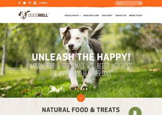 image of Cuker Wins 2015 Best Consumer Goods Mobile Website Mobile WebAward for Dogswell Website Redesign