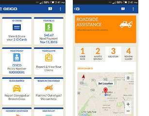 image of GEICO Wins 2015 Best Insurance Mobile Application Mobile WebAward for GEICO Mobile