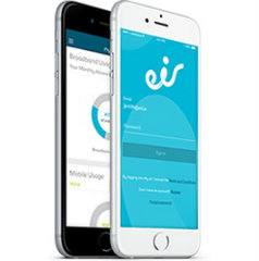 image of eir  Wins 2015 Best Telecommunication Mobile Application Mobile WebAward for My eir app