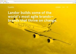 image of Landor Wins 2015 Best Professional Services Mobile Website Mobile WebAward for Landor.com