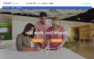 image of Intuit Wins 2015 Best Employment Mobile Website Mobile WebAward for Intuit Career Website