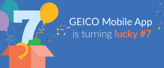 image of GEICO Wins 2016 Best Insurance Mobile Application Mobile WebAward for GEICO Mobile