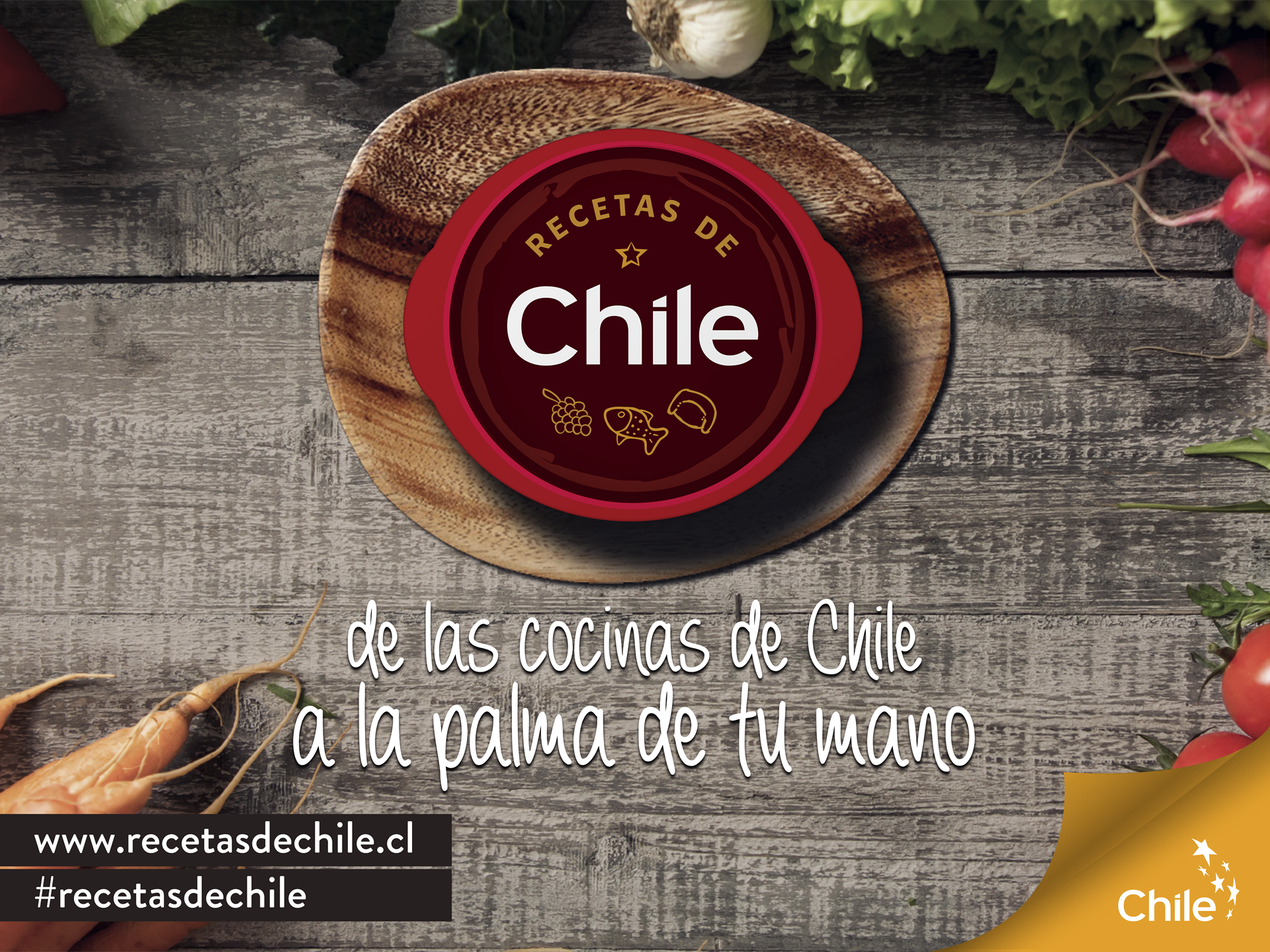 image of Imagen de Chile Wins 2016 Best Beverage Mobile Application, Best Food Industry Mobile Application, Best Information Services Mobile Application, Best Leisure Mobile Application, Best Non-Profit Mobile Application Mobile WebAward for Recetas de Chile