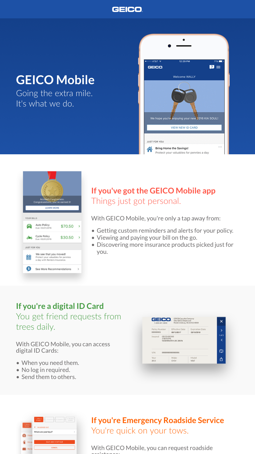 image of GEICO Wins 2017 Best Insurance Mobile Application Mobile WebAward for GEICO Mobile
