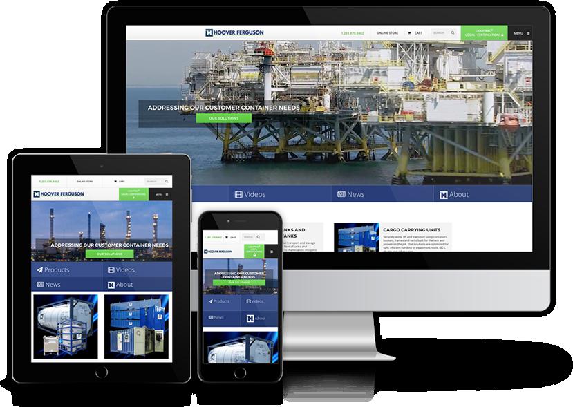 image of TopSpot Wins 2017 Best Manufacturing Mobile Website Mobile WebAward for Hoover Ferguson Website