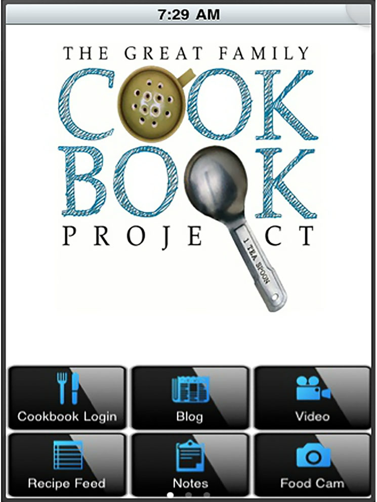 image of Bill Rice and Chip Lowell Wins 2018 Best Family Mobile Application, Best Publishing Mobile Application Mobile WebAward for Family Cookbook Mobile App